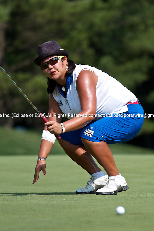 04-07-2010: Christina Kim during the final round of the Jamie Farr Owens Corning Classic at Highland Meadows Country Club, Sylvania, Ohio
