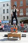 Hilario Spillaci performing at the Droichead Arts Festival. Photo:Colin Bell/pressphotos.ie