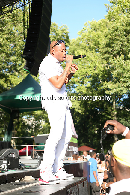 Raheem DeVaughn Performs at WBLS 5th Annual R&B Fest at Central Park SummerStage, NY