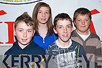 BRIGHT SPARKS: Members of the Clonkeen quiz team from Killarney that took part in the  All Ireland Finals Pioneer Quiz at  Mercy Mounthawk School last Saturday afternoon l:r Conor O'Donoghue, Emma O'Connor, Andrew Courtney and Fionan O'Donoghue.   Copyright Kerry's Eye 2008