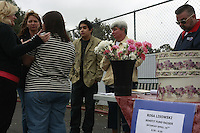 San Diego, CA, Saturday, April 20 2008:  Raphael Ramos, (center) attended a benefit fund raiser at Genie Car Wash, 3949 W Point Loma Blvd.  Raphael's mother Rosa Lisowski disappeared in the middle of a bitter divorce battle.  She was last seen after dropping one of Ramos' younger siblings off at the Barnard Elementary school on the morning of Monday March 24 2008.  The Genie Car Wash donated $5 from every car washed during the event to a fund for Lisowski's children.  Ramos, (18) is putting his college plans on hold to help raise his younger siblings.  With Ramos are (from L) Heather Peterson, Teresa Wagner, Veronica Ramos, Cheryl Eischen and Arthur Eischens.