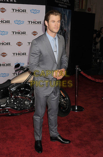 HOLLYWOOD, CA - NOVEMBER 04: Chris Hemsworth at the Los Angeles Premiere 'Thor: The Dark World' at the El Capitan Theatre on November 4, 2013 in Hollywood, California, USA.<br /> CAP/ROT/TM<br /> &copy;Tony Michaels/Roth Stock/Capital Pictures