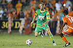 14 September 2013: Tampa Bay's Keith Savage (22). The Carolina RailHawks played the Tampa Bay Rowdies at WakeMed Stadium in Cary, North Carolina in a North American Soccer League Fall 2013 Season regular season game. The game ended in a 2-2 tie.