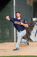 Salem Red Sox pitcher Teddy Stankiewicz (19) before a game against the Myrtle Beach Pelicans at Ticketreturn.com Field at Pelicans Ballpark on May 5, 2015 in Myrtle Beach, South Carolina.  Myrtle Beach defeated Salem  5-2. (Robert Gurganus/Four Seam Images)