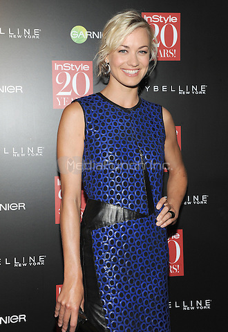 New York, NY-September 8:  Yvonne Strahovski attends Instyle 20th Anniversary Party on September 8, 2014 at Diamond Horseshoe at the Paramount Hotel in New York City.  Credit: John Palmer/MediaPunch