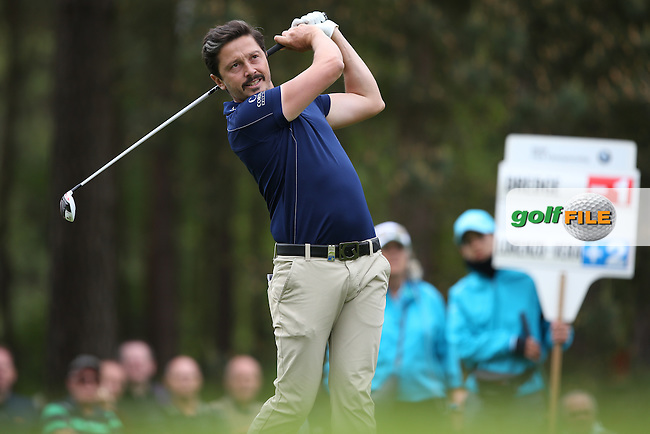 Mike Lorenzo-Vera (FRA) during Round Two of the 2015 BMW PGA Championship over the West Course at Wentworth, Virginia Water, London. 22/05/2015Picture David Lloyd, www.golffile.ie.