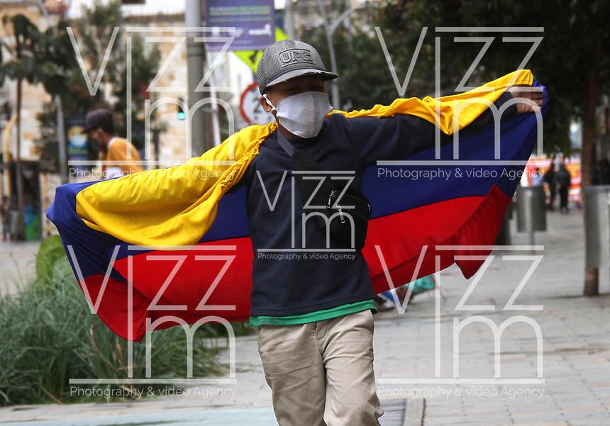 BOGOTA - COLOMBIA, 20-07-2020:Imágenes de conmemoración de la independencia de Colombia / <br /> Images commemorating the independence of Colombia<br /> Photo: VizzorImage / Felipe Caicedo / Staff