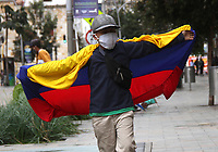 BOGOTA - COLOMBIA, 20-07-2020:Imágenes de conmemoración de la independencia de Colombia / <br /> Images commemorating the independence of Colombia<br /> Photo: VizzorImage / Felipe Caicedo / Staff