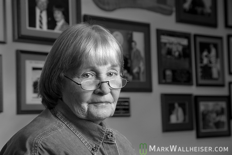Marion P. Hammer, the first female President of the National Rifle Association (1995 to 1998) and Florida lobbyist and executive director of Unified Sportsmen of Florida at her office in Tallahassee, Florida.  In 2005 Hammer was inducted into the Florida Women's Hall of Fame.