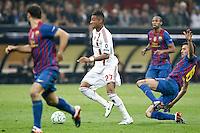 MILANO 28 MARZO 2012, MILAN - BARCELLONA,QUARTI DI FINALE UEFA CHAMPIONS LEAGUE 2011 - 2012, NELLA FOTO: BOATENG , FOTO DI ROBERTO TOGNONI.