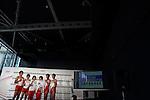 (L-R) Shota Iizuka, <br /> Takayuki Kishimoto, Seito Yamamoto, Yuki Ebihara, Yuki Sato, Hitomi Niiya (JPN), <br /> JUNE 10, 2013 - Athletics : Athletics Japan National Team Press Conference for the IAAF World Championships 2013 Moscow at Akasaka Sacas Gallery in Tokyo, Japan. <br /> (Photo by AFLO SPORT)