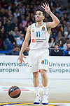 Real Madrid Facundo Campazzo during Turkish Airlines Euroleague match between Real Madrid and Olympiacos Piraeus at Wizink Center in Madrid , Spain. February 09, 2018. (ALTERPHOTOS/Borja B.Hojas)