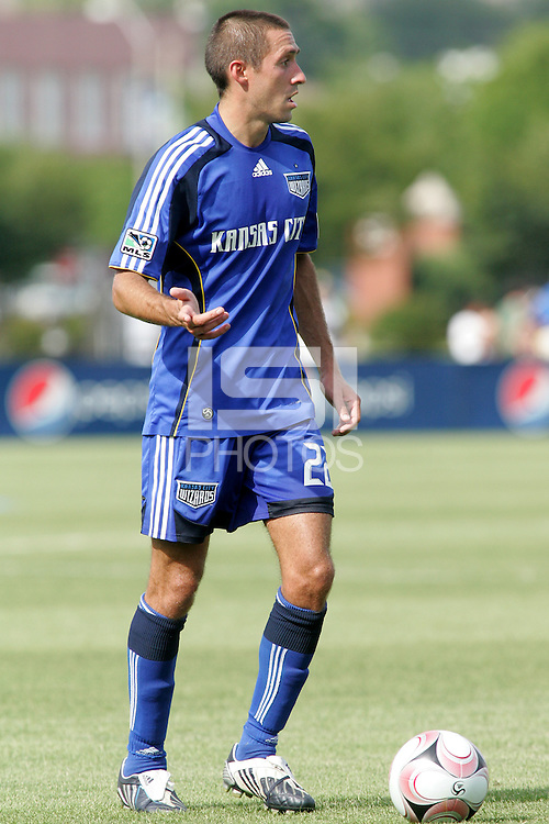 Davy Arnaud,.Kansas City Wizards and Atlas (Mexico) played to a 0-0 tie at Robert R Hermann Stadium, on the campus of Saint Louis University, St Louis , Missouri.