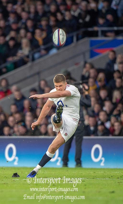 Twickenham, United Kingdom, Saturday, 3rd November 2018, RFU, Rugby, Stadium, England,   during the Quilter, Autumn International, England vs South Africa, © Peter Spurrier