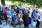 Service led by Transitional Pastor Carolyn Poteet Sunday, June 25, 2017 at Mt. Lebanon Evangelical Presbyterian Church in Mt. Lebanon. Out door reception followed. (JimMendenhallPhotos)