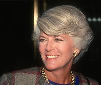 Geraldine Ferraro, 1991, Photo By John Barrett/PHOTOlink
