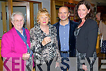 Carmel Downing, Breda King, John Conneely and Barbara O'Sullivan enjoying the Kerry School of Music concert on Saturday evening in Siamsa Tire, Tralee.