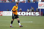 17 April 2004: MetroStars goalkeeper Jonny Walker (1) reacts after John Wolyniec's 57th minute goal had given the MetroStars a 2-1 lead. The MetroStars defeated DC United 3-2 at Giants Stadium in East Rutherford, NJ during a regular season Major League Soccer game..
