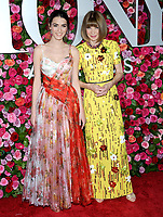 NEW YORK, NY - JUNE 10: Bee Shaffer and Anna Wintour attends the 72nd Annual Tony Awards at Radio City Music Hall on June 10, 2018 in New York City.  <br /> CAP/MPI/JP<br /> &copy;JP/MPI/Capital Pictures