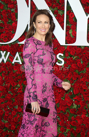 NEW YORK, NY-June 12:  Laura Benanti  at the 70th Annual Tony Awards at the Beacon Theatre in New York. NY June 12, 2016. Credit:RW/MediaPunch