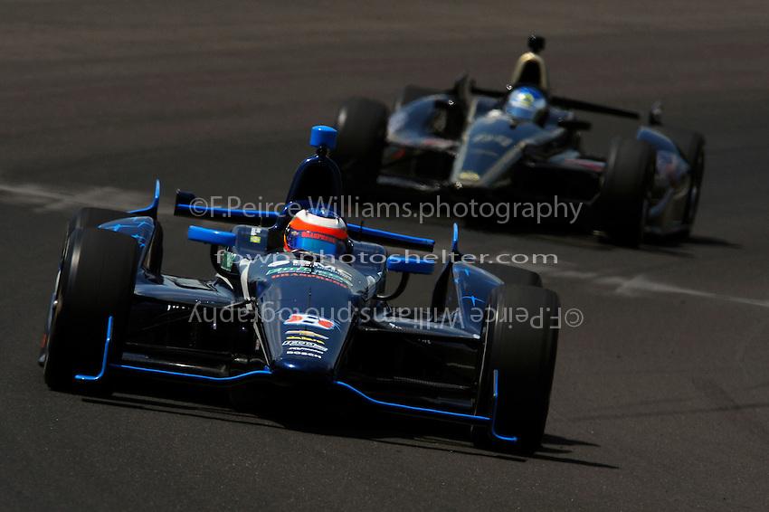 Rubens Barrichello (#8) and Jean Alesi (#64)