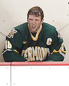 Jaime Sifers - The Boston College Eagles completed a shutout sweep of the University of Vermont Catamounts on Saturday, January 21, 2006 by defeating Vermont 3-0 at Conte Forum in Chestnut Hill, MA.