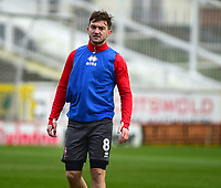 Lincoln City Lee Frecklington during the pre-match warm-up<br /> <br /> Photographer Andrew Vaughan/CameraSport<br /> <br /> The EFL Sky Bet League Two - Swindon Town v Lincoln City - Saturday 12th January 2019 - County Ground - Swindon<br /> <br /> World Copyright &copy; 2019 CameraSport. All rights reserved. 43 Linden Ave. Countesthorpe. Leicester. England. LE8 5PG - Tel: +44 (0) 116 277 4147 - admin@camerasport.com - www.camerasport.com