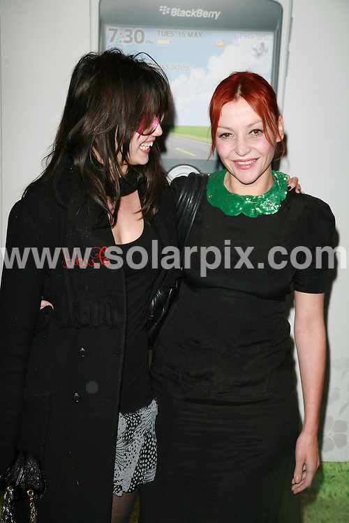 **ALL ROUND PICTURES FROM SOLARPIX.COM**.Celebrity arrivals at the Blackberry Summer Party, Roof Gardens, Kensington High Street, London. 15th May 2007.THIS PIC:DAISY LOWE AND PEARL LOWE.JOB REF:3912-GMT   DATE:16_05_07 .**MUST CREDIT SOLARPIX.COM OR DOUBLE FEE WILL BE CHARGED* *UNDER NO CIRCUMSTANCES IS THIS IMAGE TO BE REPRODUCED FOR ANY ONLINE EDITION WITHOUT PRIOR PERMISSION*