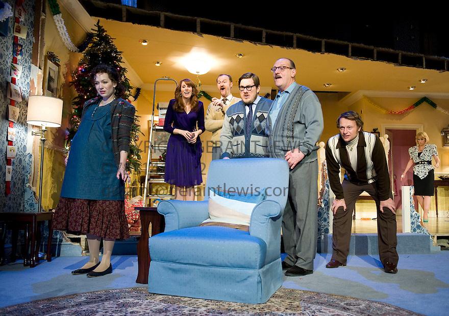 Seasons greetingstheatre photocalllyttleton theatreroyal seasons greetings by alan ayckbourndirected by marianne elliott with katherine parkinson as pattie m4hsunfo