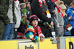 08.02.2019, RheinEnergieStadion, Koeln, GER, 2. FBL, 1.FC Koeln vs. FC St. Pauli,<br />  <br /> DFL regulations prohibit any use of photographs as image sequences and/or quasi-video<br /> <br /> im Bild / picture shows: <br /> Fans Koelner <br /> <br /> Foto © nordphoto / Meuter