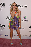 MIAMI, FL - JUNE 02: Fanny Lu attends the Custo Barcelona Runway Show during Miami Fashion Week at the Ice Palace Studios on June 2, 2018 in Miami Florida. <br /> CAP/MPI04<br /> &copy;MPI04/Capital Pictures