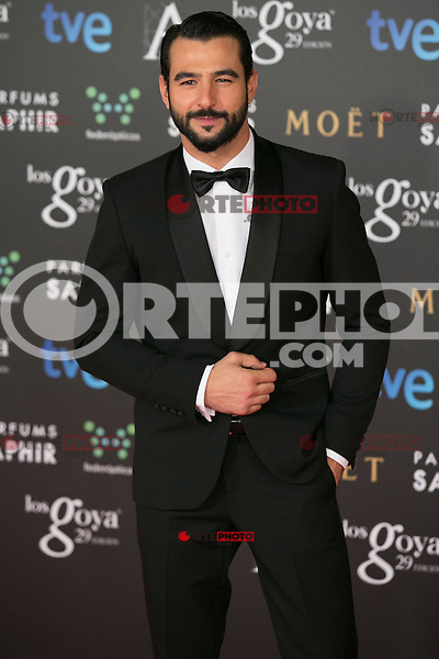 Antonio Velazquez attend the 2015 Goya Awards at Auditorium Hotel, Madrid,  Spain. February 07, 2015.(ALTERPHOTOS/)Carlos Dafonte) /NORTEphoto.com