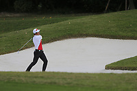 Wenchong Liang (CHN)on the 9th fairway bunker  during the 1st round at the WGC HSBC Champions 2018, Sheshan Golf CLub, Shanghai, China. 25/10/2018.<br /> Picture Phil Inglis / Golffile.ie<br /> <br /> All photo usage must carry mandatory copyright credit (&copy; Golffile | Phil Inglis)