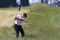 Ian Poulter (ENG) in the rough for his 2nd shot on the 13th hole during Thursday's Round 1 of the 118th U.S. Open Championship 2018, held at Shinnecock Hills Club, Southampton, New Jersey, USA. 14th June 2018.<br /> Picture: Eoin Clarke | Golffile<br /> <br /> <br /> All photos usage must carry mandatory copyright credit (&copy; Golffile | Eoin Clarke)