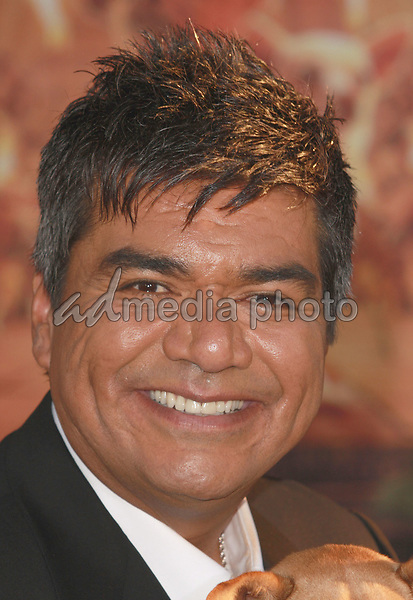 """18 September 2008 - Hollywood, California - George Lopez. """"Beverly Hills Chihuahua"""" Los Angeles Premiere held at the El Capitan Theatre. Photo Credit: Charls Harris/AdMedia"""