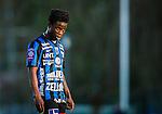 Uppsala 2015-05-21 Fotboll Superettan IK Sirius - Mj&auml;llby AIF :  <br /> Sirius Kingsley Sarfo under matchen mellan IK Sirius och Mj&auml;llby AIF <br /> (Foto: Kenta J&ouml;nsson) Nyckelord:  Superettan Sirius IKS Mj&auml;llby AIF portr&auml;tt portrait