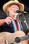 "May 6, 2011 New Orleans, La.: Singer / Musician Willie Nelson performs ""2011 New Orleans Jazz & Heritage Festival"" on May 6, 2011 in New Orleans, La."