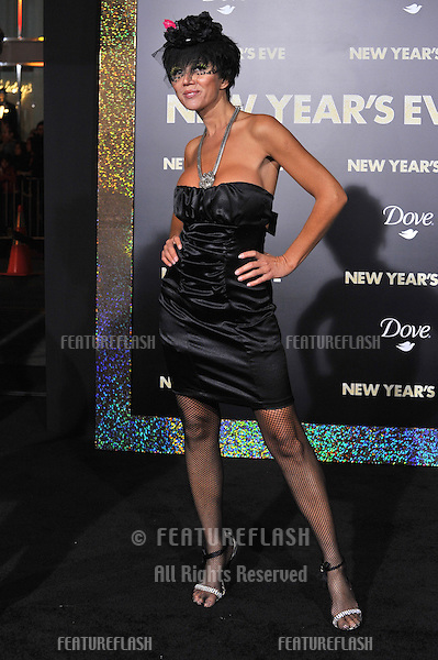 "Singer/actress Nadeea at the world premiere of ""New Year's Eve"" at Grauman's Chinese Theatre, Hollywood..December 5, 2011  Los Angeles, CA.Picture: Paul Smith / Featureflash"