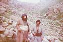 Iraq 1983 .Hama Haji Mahmoud in the mountain of Surien .Irak 1983 .Hama Haji Mahmoud dans la montagne de Surien