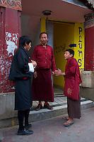 Street life in Thimphu, Bhutan
