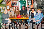Birthday Party : Carol Stricks, Lixnaw celebrating her birthday with friends at John B. Keane's Bar, Listowel on Friday night last. L- R : Sue Vivash, Mary Keane, Carol Stricks, Joe Lane, Jean Allen, Bernie Carmody & Maura MacConnell.