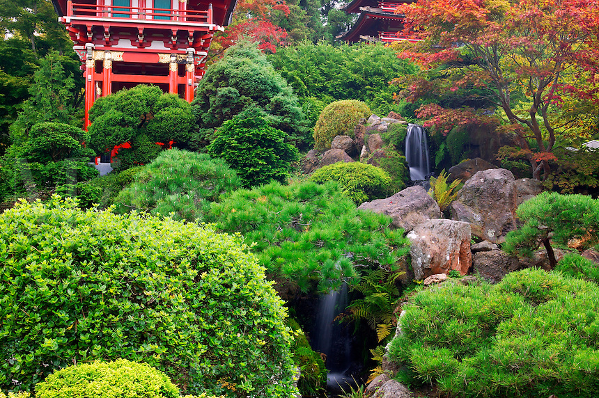 Japanese Tea Garden, Golden Gate Park, San Francisco, California
