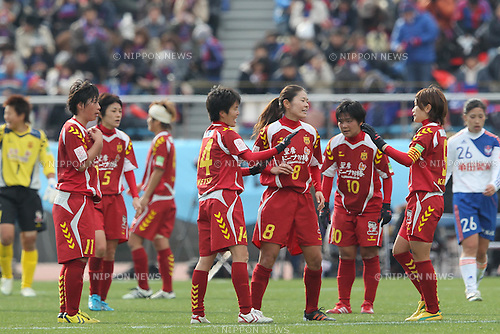 NACINAC Kobe Leonessa Team Group, .JANUARY 1, 2012 - Football / Soccer : The 33th All Japan Women's Football Championship final match between INAC Kobe Leonessa 3-0 Albirex Ladies at National Stadium in Tokyo, Japan. (Photo by Akihiro Sugimoto/AFLO SPORT) [1080]