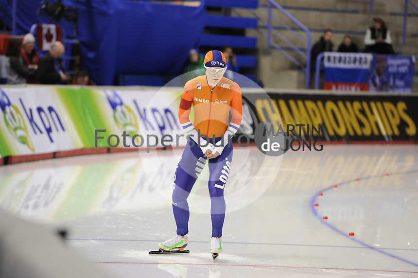 SPEEDSKATING: CALGARY: Olympic Oval, 25-02-2017, ISU World Sprint Championships, 500m Ladies, Sanneke de Neeling (NED), ©photo Martin de Jong