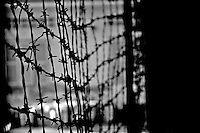 Phnom Penh Town Cambodia, Barb Wire at Tuol Sleng In Phnom Penh one of the largest secondary schools under the rule of Pol Pot was turned into a torture camp and prison called S21. ...