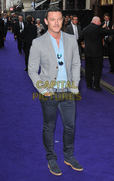 Luke Evans at the &quot;Disney's Aladdin&quot; press night, Prince Edward Theatre, Old Compton Street, London, England, UK, on Wednesday 15 June 2016.<br /> CAP/CAN<br /> &copy;CAN/Capital Pictures