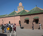 Ali Ben Youssef mosque, Marrakech, Morocco, north Africa