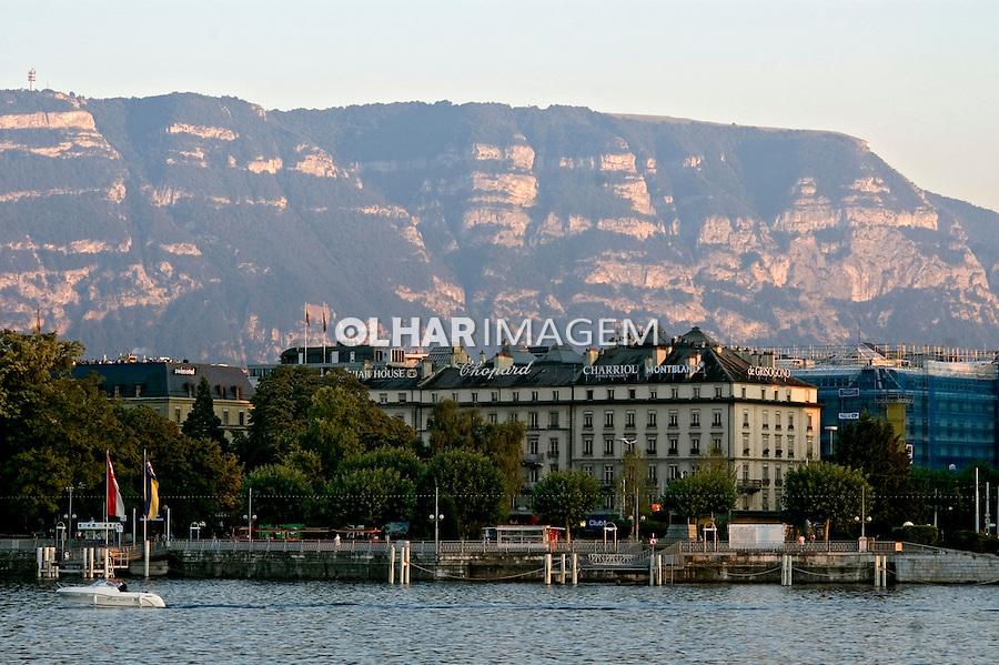 Cidade e lago de Genebra. Suiça. 2008. Foto de Cris Berger.