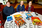 Paul Johnston, Eddwuim De Groot and Jessica Van Esch attending the Trading Card Games in the Manor West Hotel on Sunday.