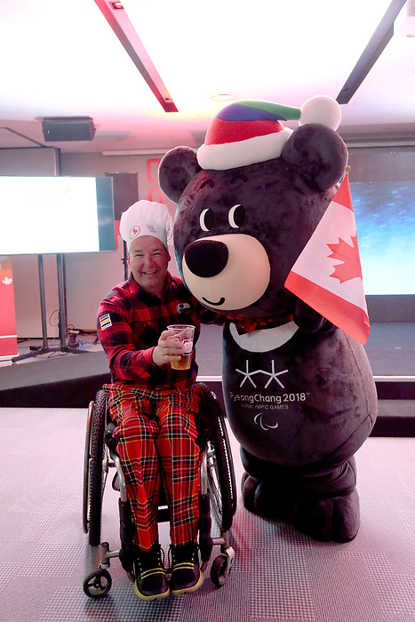 Pyeongchang, Korea, 14/3/2018- Canada Paralympic House  at the 2018 Paralympic Games in PyeongChang. Photo Scott Grant/Canadian Paralympic Committee.